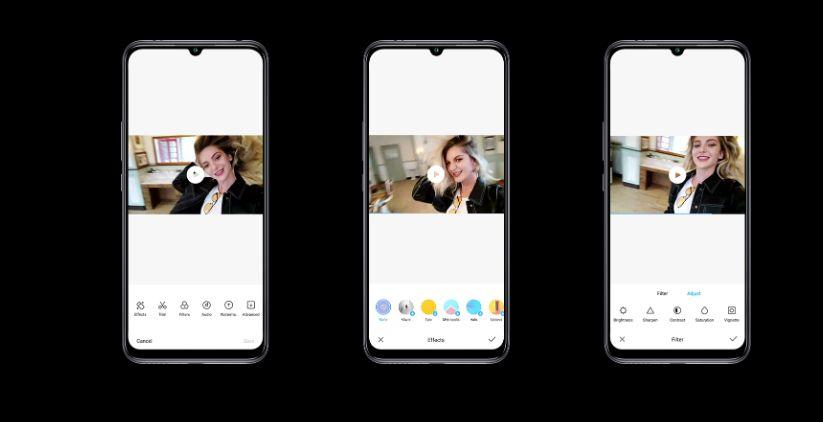 Cellulare Smartphone con i 3 video