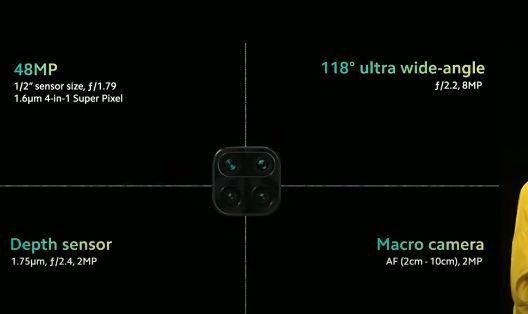 Sensore Cellulare Smartphone Xiaomi Redmi 9A