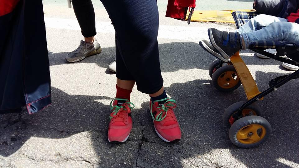 Anche i calzini sono rossoblu!