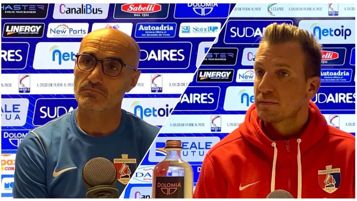 Conferenza stampa Samb-Mantova