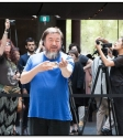 Andy Warhol Ai Weiwei NGV exhibition-151210-006