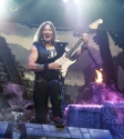 Iron Maiden Concert. Photo by Ros O'Gorman