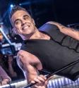 Robbie Williams photo by Mary Boukouvalas