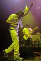 Ian Brown of The Stone Roses - image By Ros O'Gorman