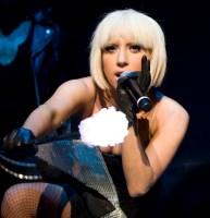 Lady Gaga. image by Tim Cashmere