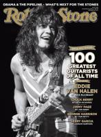 Rolling Stone Eddie Van Halen cover