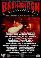 Backtrack Australian Tour 2012