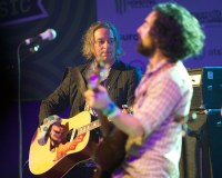 Blitzen Trapper with Peter Buck - Photo By Ros O'Gorman
