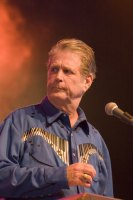 Brian Wilson of the Beach Boys. photo by Ros O'Gorman
