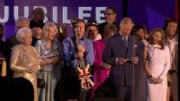 Queen's Jubilee concert