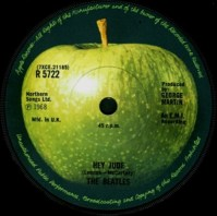 Hey Jude The Beatles First Apple Record