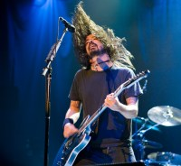 Foo Fighters, Dave Grohl, Photo By Ros O'Gorman, Noise11, Photo