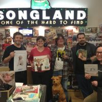 The staff of Songland Records prepare for Record Store Day with Paul Cashmere, Noise11, Photo