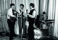 The Beatles in the BBC studio