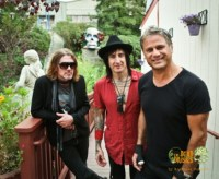 The Dead Daisies Dizzy Reed Richard Fortus and Jon Stevens photo by Katrina Benzova, Noise11, Photo