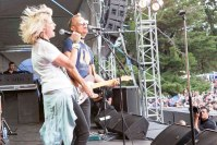 Brig lights up with James Reyne photo by Ros O'Gorman