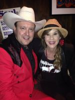 Cherry Bar owner James Young and Linda Blair at Cherry Bar Melbourne, Noise11, Photo