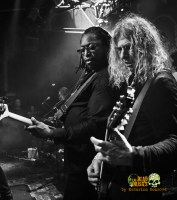 Darryl Jones and David Lowy of The Dead Daisies performing in Israel. Photo by Katarina Benzova