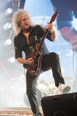 Brian May Queen Melbourne 2014, photo Ros O'Gorman
