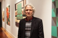 Peter O'Doherty at Gould Gallery photo by Ros O'Gorman