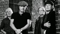 AC/DC 2014 Band Photo With Stevie Young