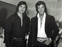 Engelbert Humperdinck and Elvis Presley photo courtesy of Scott Dorsey