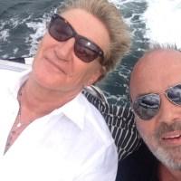 Scott Dorsey and Rod Stewart