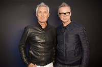 Martin and Gary Kemp of Spandau Ballet at the Noise11 studio. Photo by Ros O'Gorman