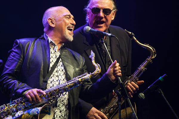Joe Camilleri and Wilbur Wilde perform at the APIA Good Times Tour. Photo by Ros O'Gorman