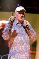Mike Love, The Beach Boys Rod Laver Arena 2012. Photo by Ros O'Gorman