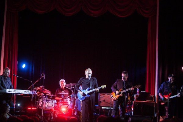 Normie Rowe and the Playboys perform at Memo Music Hall, St Kilda, Melbourne on Saturday 6 June 2015. Photo by Ros O'Gorman