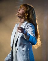 Florence And The Machine perform at The Palais Theatre. Photo Zo Damage.