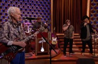 Robby Krieger Jack Black Boy George perform for Conan, music news, noise11.com