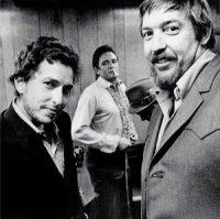 Bob Johnston with Bob Dylan