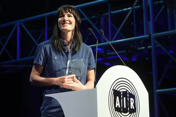 Jen Cloher at the 2015 Carlton Dry Independent Music Awards held in Melbourne at the Meat Market on Thursday 22 October 2015. Photo Ros O'Gorman
