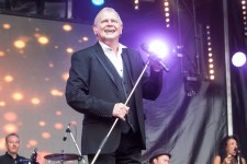 John Farnham performs at One Electric Day Werribee Park. Photo by Ros O'Gorman