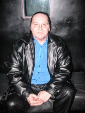 Stevie Wright at the Moser Room South Yarra for the Launch of the Book, Hard Road on 5 August 2004. Photo by Ros O'Gorman, noise11