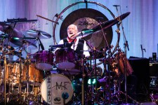 Drummer Mick Fleetwood of Fleetwood Mac performs at ADOTG at Mt Duneed Winery on 7 November 2015. Photo by Ros O'Gorman