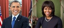 President Obama and Michelle Obama