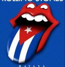 Rolling Stones Cuba poster