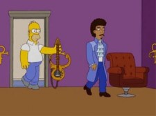 The Simpsons unused Prince episode