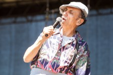 Kevin Rowland of Dexys Midnight Runners performs at the Harvest Festival at Werribee Park on 11 November 2012. Photo by Ros O'Gorman