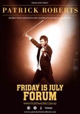 Patrick Roberts Forum poster