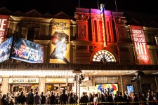 Singin' in the Rain Melbourne Premiere at Her Majesty's Theatre on Saturday 14 May 2016. Photo by Ros O'Gorman