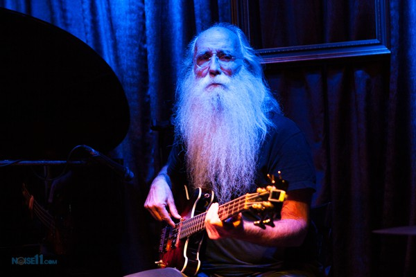 Leland Sklar performs with Judith Owen at the Paris Cat in Melbourne on Tuesday 7 June 2016. Photo by Ros O'Gorman