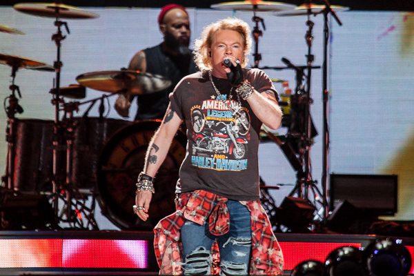 Guns N' Roses Play The Hallowed Turf Of The Melbourne
