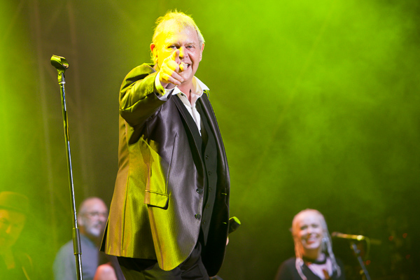 A Day In The Gardens in the Botanical Gardens Melbourne on Friday 10 March 2017. Ross Wilson, Daryl Braithwaite and John Farnham each performed a set for the first A Day In The Gardens held over the March 2017 Moomba long weekend in Melbourne.