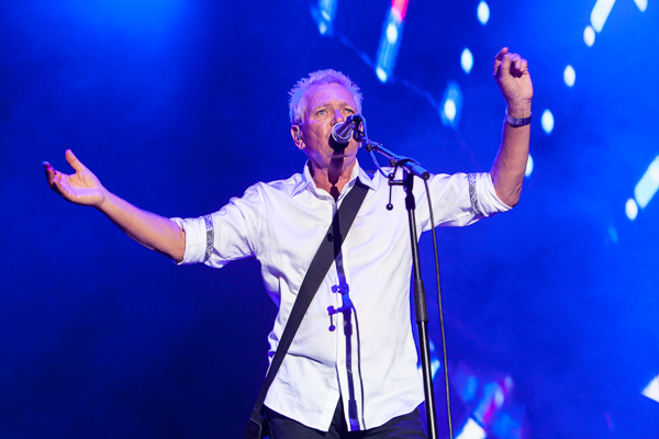 Icehouse perform at A Day In The Gardens in the Royal Botanical Gardens Melbourne on Sunday 12 March 2017.