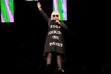 Blondie, Rod Laver Arena Melbourne on Thursday 6 April 2017. Photo by Ros O'Gorman
