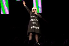 Blondie, Rod Laver Arena Melbourne on Thursday 6 April 2017. Photo by Ros O'Gorman